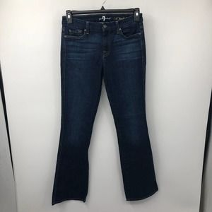 7 For All Mankind A Pocket Flare Jeans Dark Wash